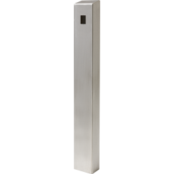 "47"" Stainless Architectural Pedestal - perspective view"