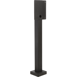 "53"" Heavy Duty Pedestal (w/ large face plate) - perspective view"