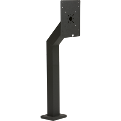 "48"" Heavy Duty Pedestal (w/ large face plate) - perspective view"