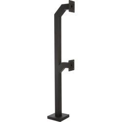 "84"" Dual Headed, Gooseneck Pedestal - perspective view"