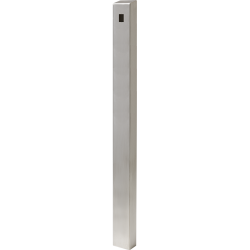 "72"" Stainless Architectural Pedestal - perspective view"